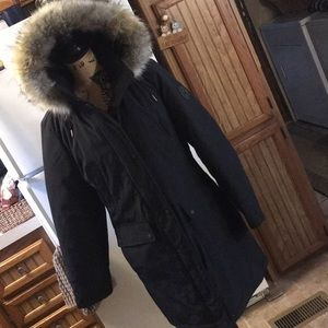 Andrew Marc full length winter coat size medium